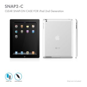 Macally Чехол для iPad 2 SNAP2C Clear
