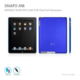 Macally Чехол для iPad 2 SNAP2MB Metallic