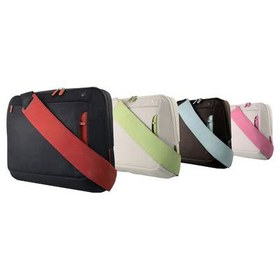 Belkin Messenger Bag for notebooks up to 15.6 Jet/Cabernet