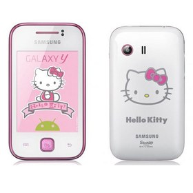 Samsung S5360 Galaxy Y Hello Kitty White